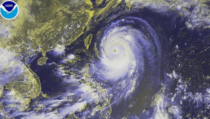 Le typhon Neoguri