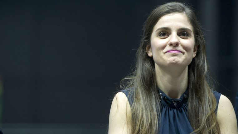 Actrice Rosa da Silva speelt Anne in de gelijknamige theatervoorstelling Beeld ANP