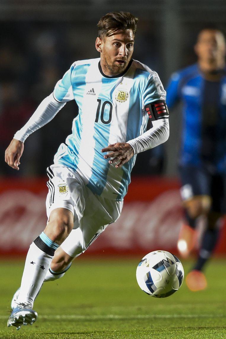 Hoe fit zijn Lionel Messi en Luis Suárez? Beeld null