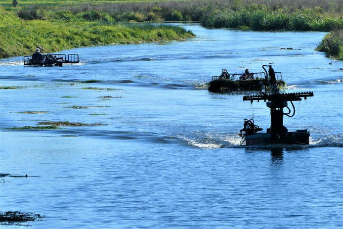 Waterschap De Dommel geeft op jaarbasis al miljoenen uit aan onderhoud van waterlopen en veilig water.