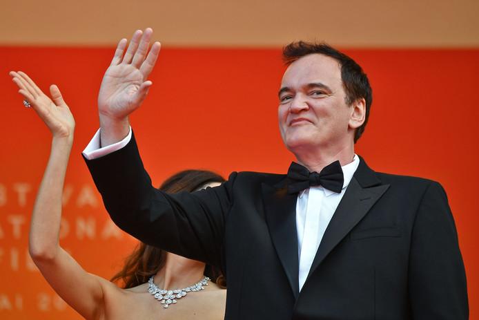 Quentin Tarantino, sur le tapis rouge du festival de Cannes, en mai 2019.
