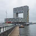 Het Pontsteigergebouw in Amsterdam.