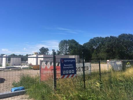 Bouw verpleeghuis Cornelia ligt stil: bouwbedrijf Sprangers zit in de problemen