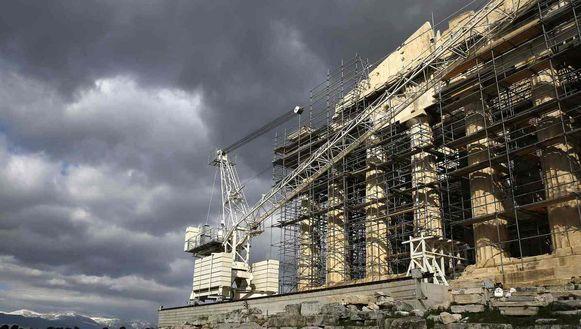 Donkere wolken boven de Akropolis: brengt de Eurogroep vandaag soelaas voor de Grieken?