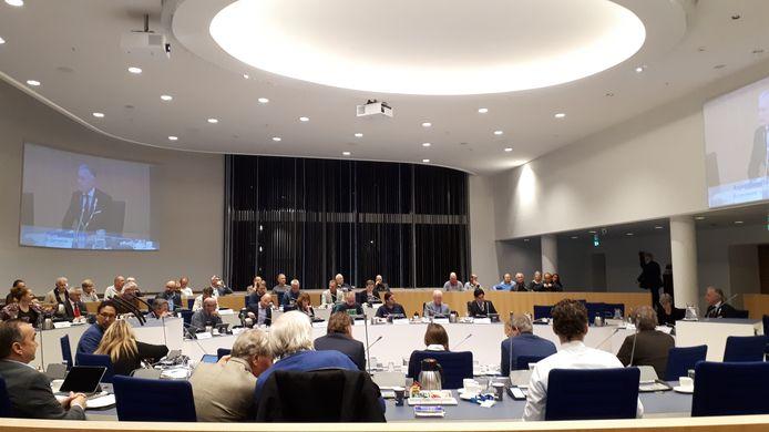 De gemeenteraad van Almelo in de huidige samenstelling