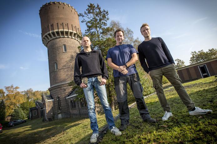 vlnr: Thomas Heimerikx, Marc Weber en Pim Kokkeler.