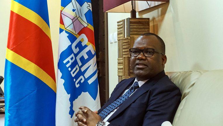 Corneille Nangaa, voorzitter van de verkiezingscommissie. Beeld reuters