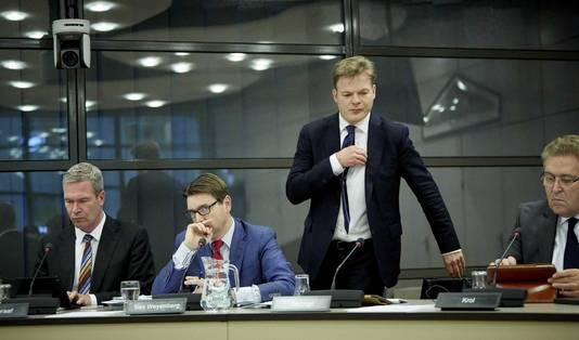 VLNR. Kamerleden Dijkgraaf (SGP), van Weyenberg (D66), Omtzigt (CDA) en Krol