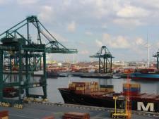 Chauffeur in opleiding laat containerkraan kantelen op Antwerpse haven