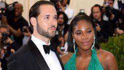 Ze zei 'ja': Serena Williams getrouwd met Alexis Ohanian