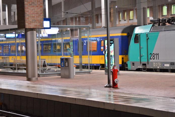 De situatie op station Breda.