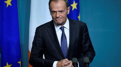 Tusk schrapt trip naar Israël om cruciale fase brexit niet te missen