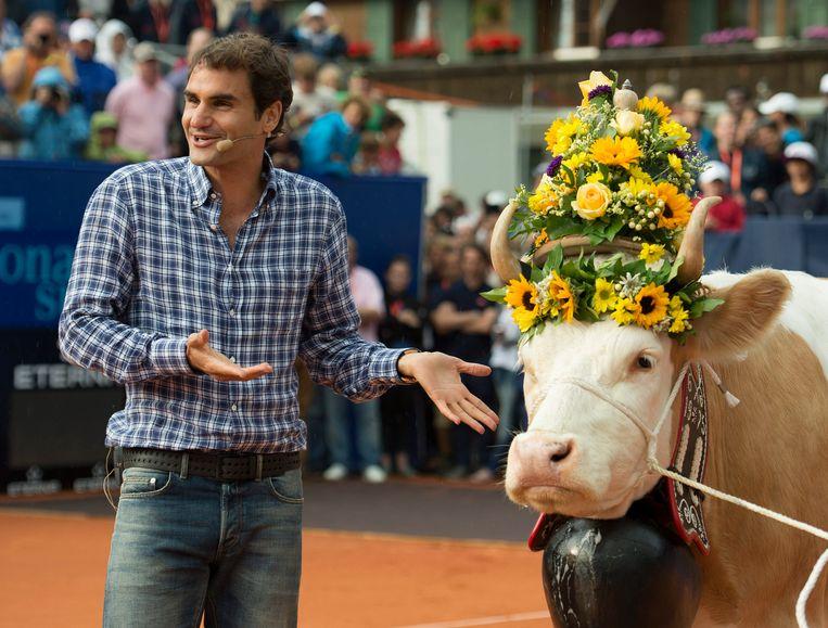Roger Federer en Desiree