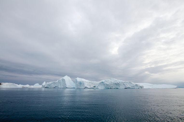 Het beroemde ijsfjord bij de stad Ilulissat in Groenland. De ijsfjord staat op de Unesco werelderfgoedlijst. Beeld COLOURBOX