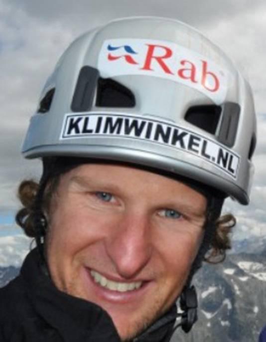 Boris Textor (29) is één van de acht Nederlanders die de opleiding tot UIAGM berg- en skigids heeft afgerond.