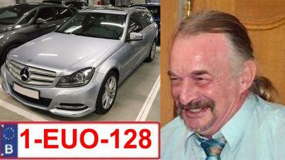 Politie zoekt vermiste Rudi Govaerts (61) uit Galmaarden