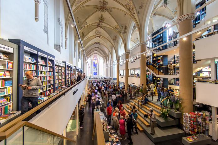 Boekwinkel Waanders in de Broeren in Zwolle.