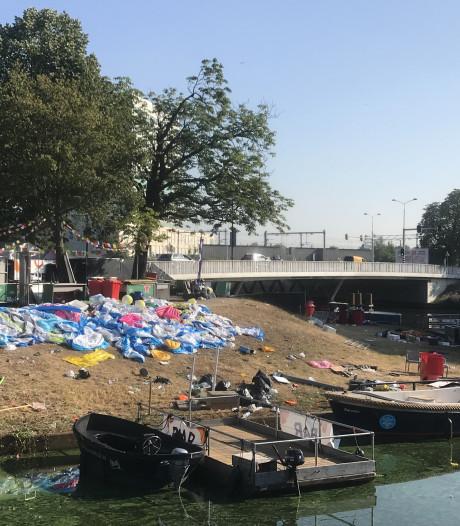 Breda Dreef: sporen van drijffeestje in de stad
