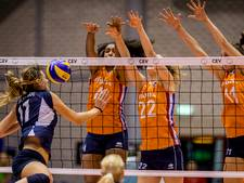 Goed begin is het halve werk voor volleybalsters