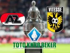 KNVB-beker: AZ - Vitesse