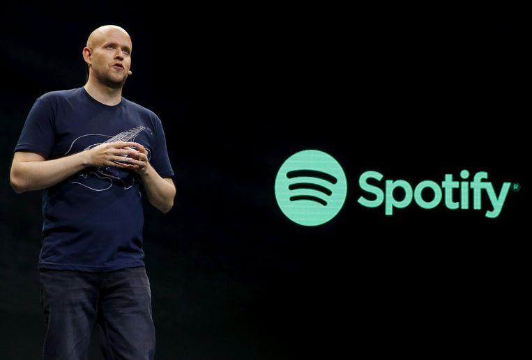 Daniel Ek, ceo van Spotify Beeld null