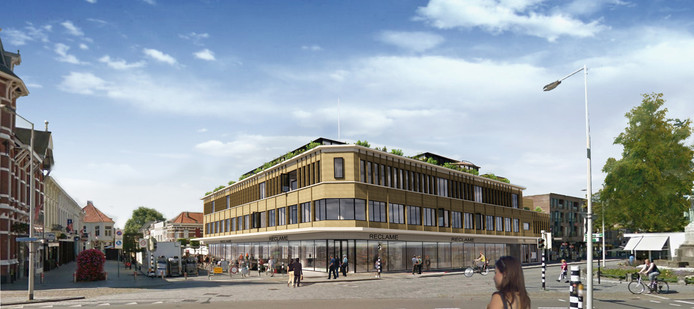 In het voormalige V&D-pand in Bergen op Zoom start de BVR Groep begin januari met de inpandige sloop. Medio 2020, zodra 70 procent van de 45 te realiseren appartementen verkocht is, worden de gevels vervangen en wordt de definitieve verbouwing ingezet.