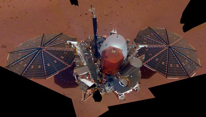 De InSight-sonde.