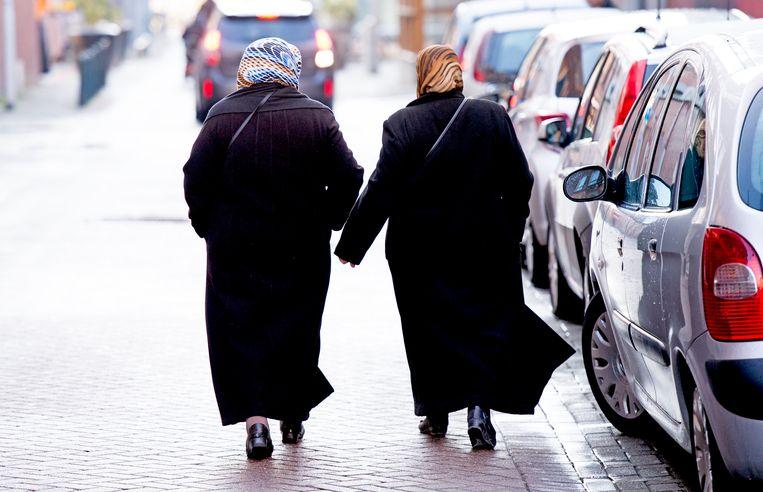 Moslima's in Nederland. Beeld ANP