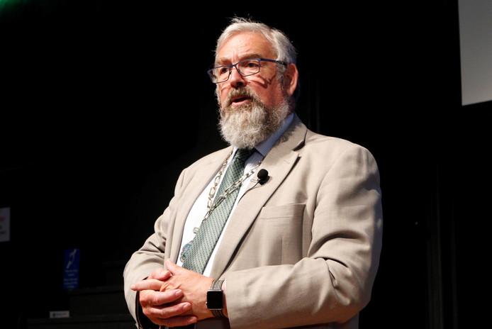 De burgemeester van het Engelse Stroud, Kevin Cranston, herdenkt mee in Putten op 1 en 2 oktober.