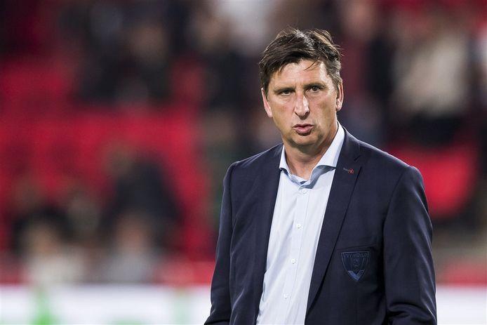 Voormalig PSV-speler Luc Nilis, nu assistent coach bij VVV Venlo.