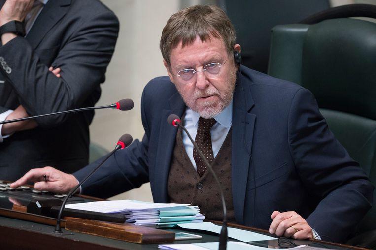 Kamervoorzitter Siegfried Bracke (N-VA).