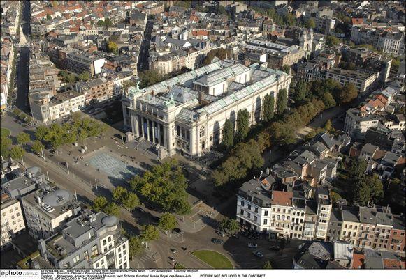Het Museum voor Schone Kunsten op het Antwerpse Zuid.