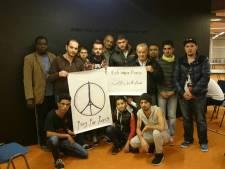 Haagse vluchtelingen steken Parijs hart onder de riem