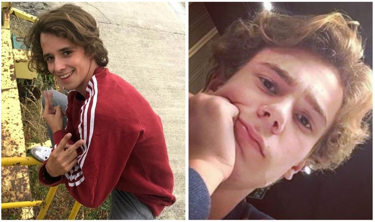 Links: Willem Herbots in 'wtFock'. Rechts: Tarjei Sandvik Moe in 'Skam'.