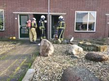 Brandweer redt man bij brand in woning in Borne