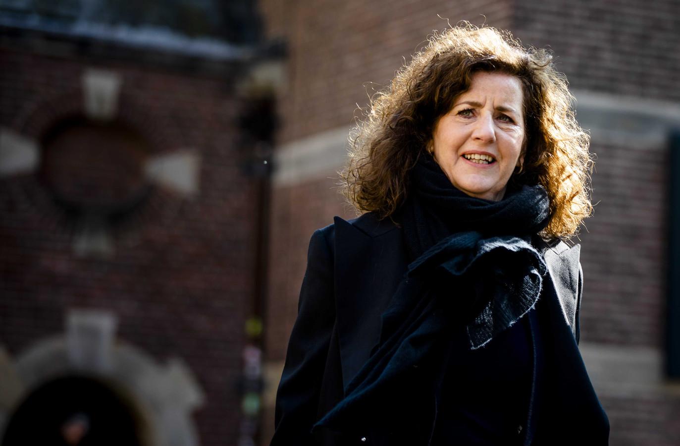 Minister Ingrid van Engelshoven van Onderwijs, Cultuur en Wetenschappen (D66).