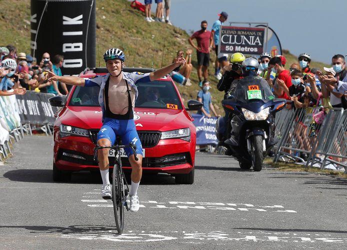 Le numéro de Remco Evenepoel sur le Tour de Burgos n'est pas passé inaperçu.