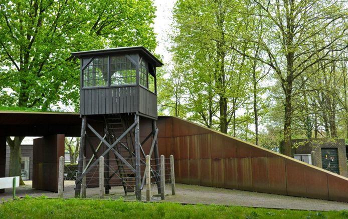 De wachttoren van Kamp Amersfoort.