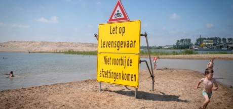 Ouders gewaarschuwd: zandberg in recreatieplas Heteren is bloedlink
