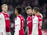 Versterkte B-keus Ajax laat zich niet verrassen door Go Ahead Eagles