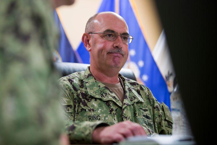 Admiraal John Ring, de gevangenisbaas van Guantánamo Bay, is ontslagen.