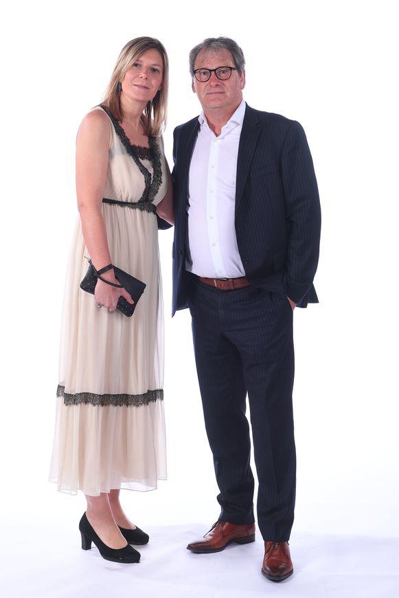 Jacky Mathijssen met partner Petra Herbots.