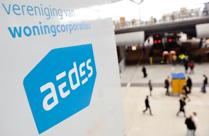 Hoofdkantoor van de vereniging van woningcorporaties Aedes in Den Haag