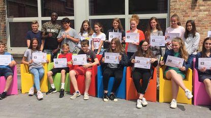 Leerlingen Latijn Middenschool scoren op Euroclassica