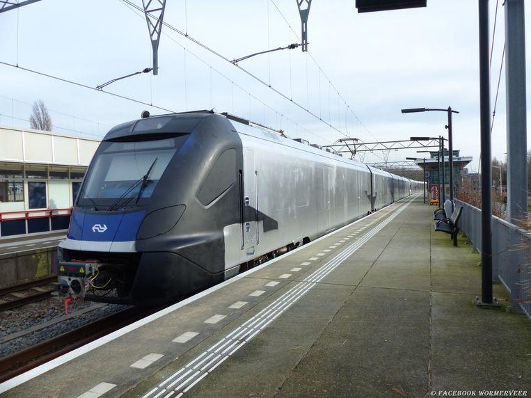 De zilveren trein in Wormerveer