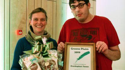 Groene Pluim 2019 gaat naar 'OverKop-huis Tienen'