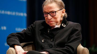 Amerikaanse rechter Ruth Bader Ginsburg (86) in het ziekenhuis