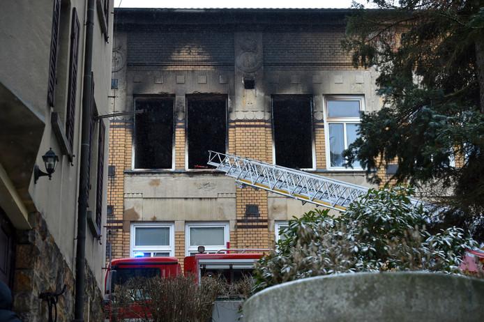 Bij een brand in een tehuis voor gehandicapten in de Tsjechische stad Vejprty zijn zeker acht mensen om het leven gekomen
