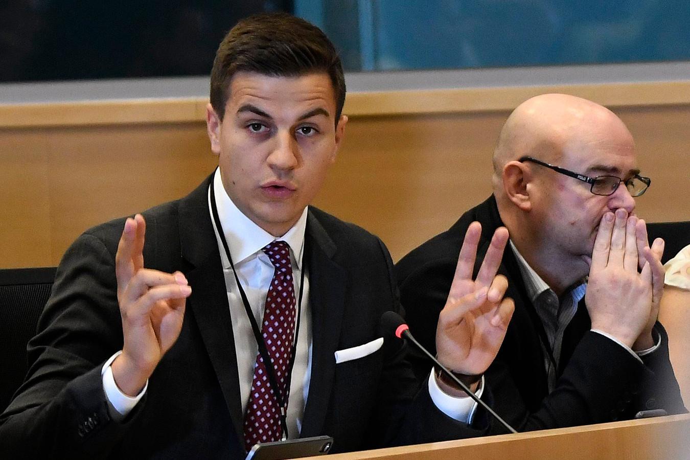 """Dries Van Langenhove stond in mei als onafhankelijke op de lijst van Vlaams Belang in het federaal parlement en is verkozen: """"Ik heb een drukke agenda""""."""