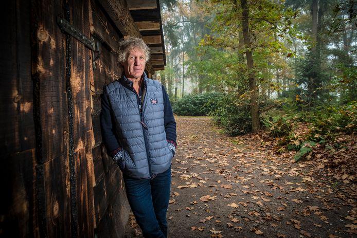 Gertjan Verbeek noemt zichzelf een echte bosman.